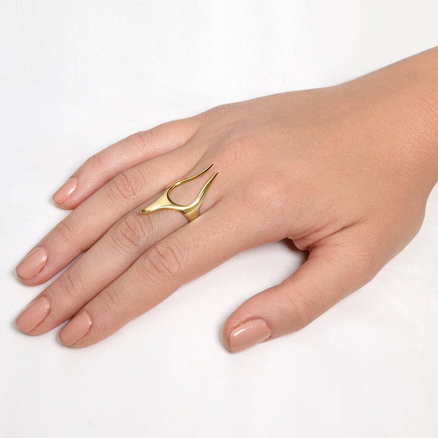 Anubis Gold Ring