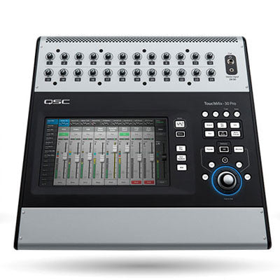 QSC TouchMix-30 Pro 32 Channel Digital Mixer - Quest Music Store
