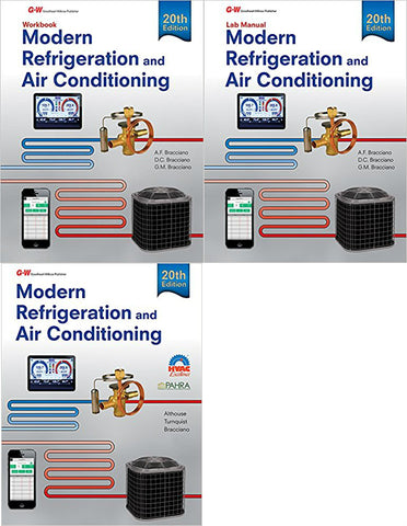 Modern Refrigeration and Air Conditioning, 20th Edition Bundle (Text + Workbook + Lab Manual)