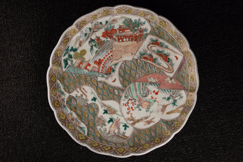 ANTIQUE IMARI PAINTED PLATE - TLS Living