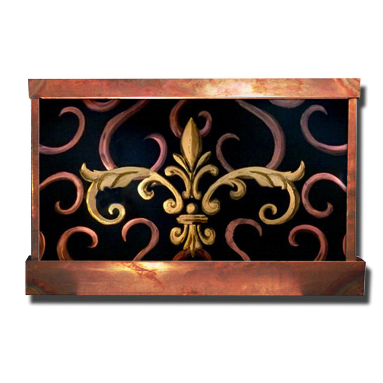 Fleur de Lis Wall Fountain - Soothing Walls