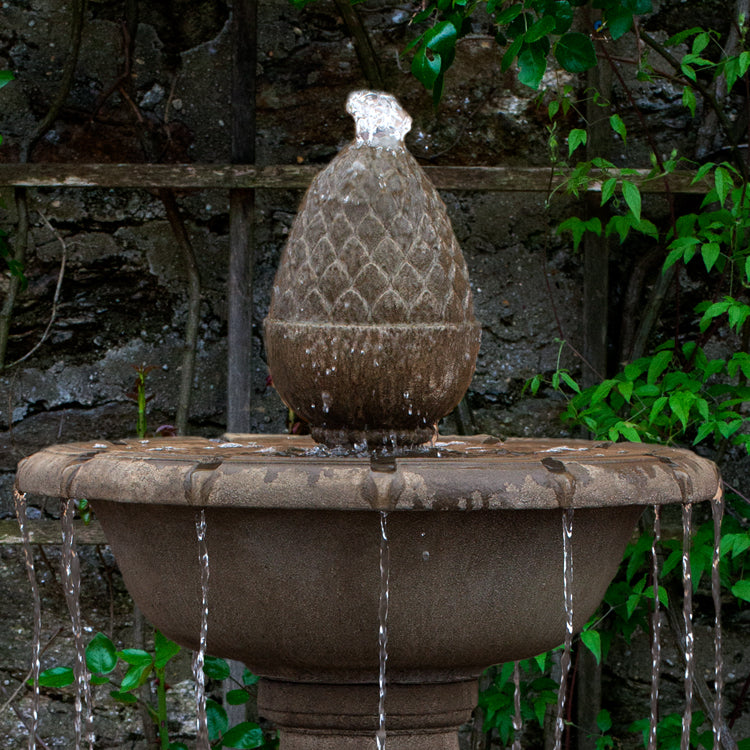 Wiltshire Tiered Outdoor Fountain -  Outdoor Fountains - Soothing Walls
