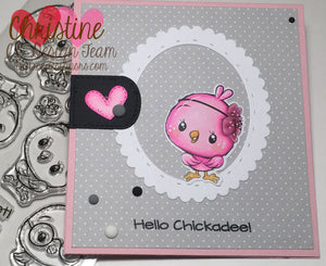 Cute Birds Clear Stamps