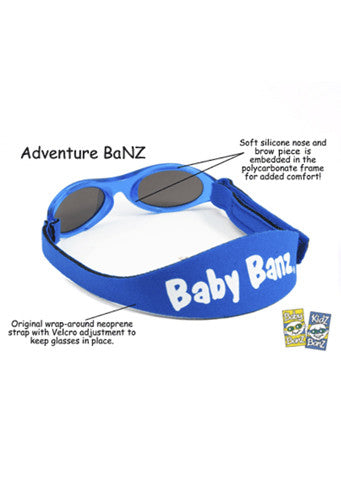 Baby Banz </br>Adventure Banz Sunglasses | Black
