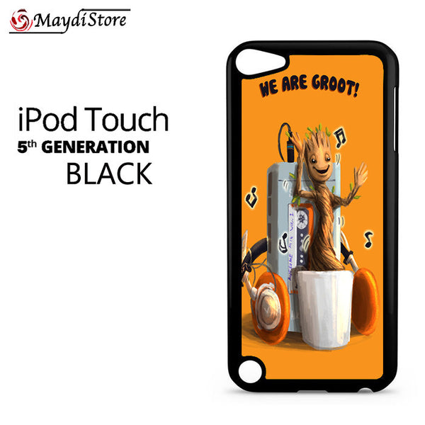 Baby Groot Dancing Awesome Mix Vol 1 For Ipod Touch 5 Case
