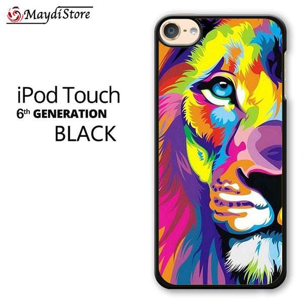 Rainbow Lion Art For Ipod Touch 6 Case