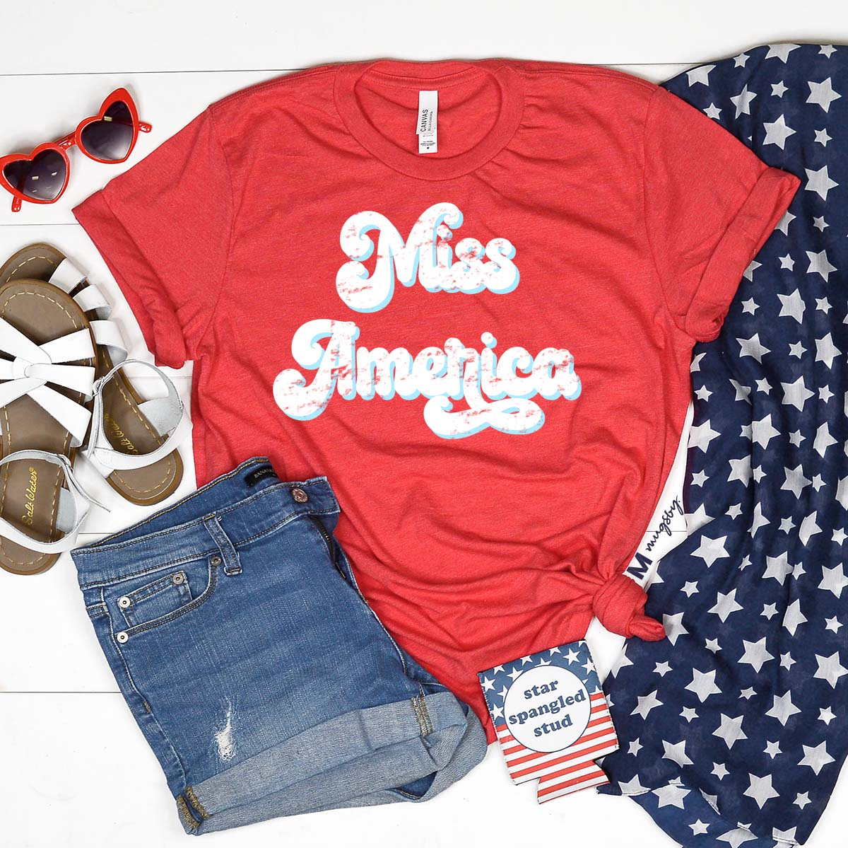 4th of july tees