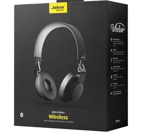 JABRA MOVE WIRELESS HEADSET BT BLK