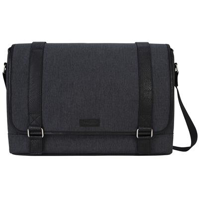 "TARGUS TBM567AU, 15.6"" CITY FUSION II MESSENGER BAG - GREY/BLACK"