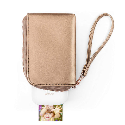 HP Sprocket Gold & White Wallet Sleeve