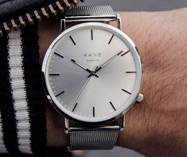 IN FOCUS: WATCH CASES - Silver Steel