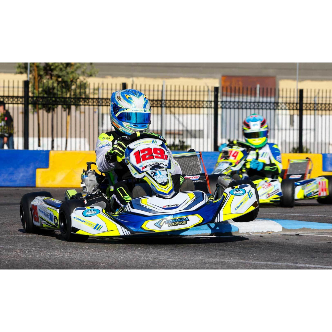 2018 Compkart Covert 3.0 TAG Racing Kart