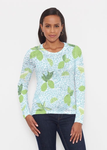 Margarita Lime (10181) ~ Signature Long Sleeve Crew Shirt