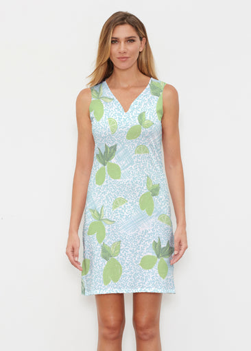 Margarita Lime (10181) ~ Classic Sleeveless Dress