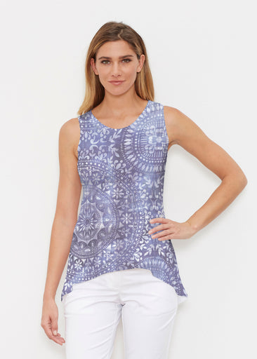 Medallion Flower (13453) ~ High-low Tank