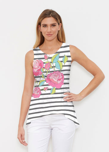 Rosie Stripe (14226) ~ High-low Tank