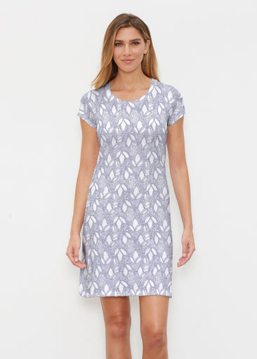 Dottie Combo Navy (7688) ~ Classic Crew Dress