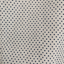 vintage navy dot pinafore 18/24