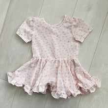 vintage pink daisy dress 4t