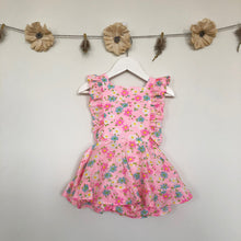 vintage happy daisy pinafore - 18/24