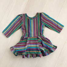 vintage stripe dress 4t