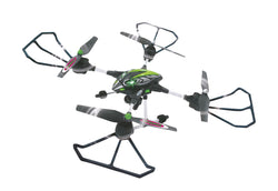 Jamara R/C Drone Oberon Altitude 4+6 Channel RTF / Photo / Video / With Lights / 360 Flip 2.4 GHz Control Green