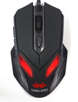 New Sealed Zark Wired Gaming PC Computer Mouse with LED light 2400DPI