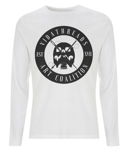 Vida Threads Long Sleeved Tee Signature Logo - VidaThreads
