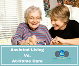Assisted Living Vs. At-Home Care For Seniors