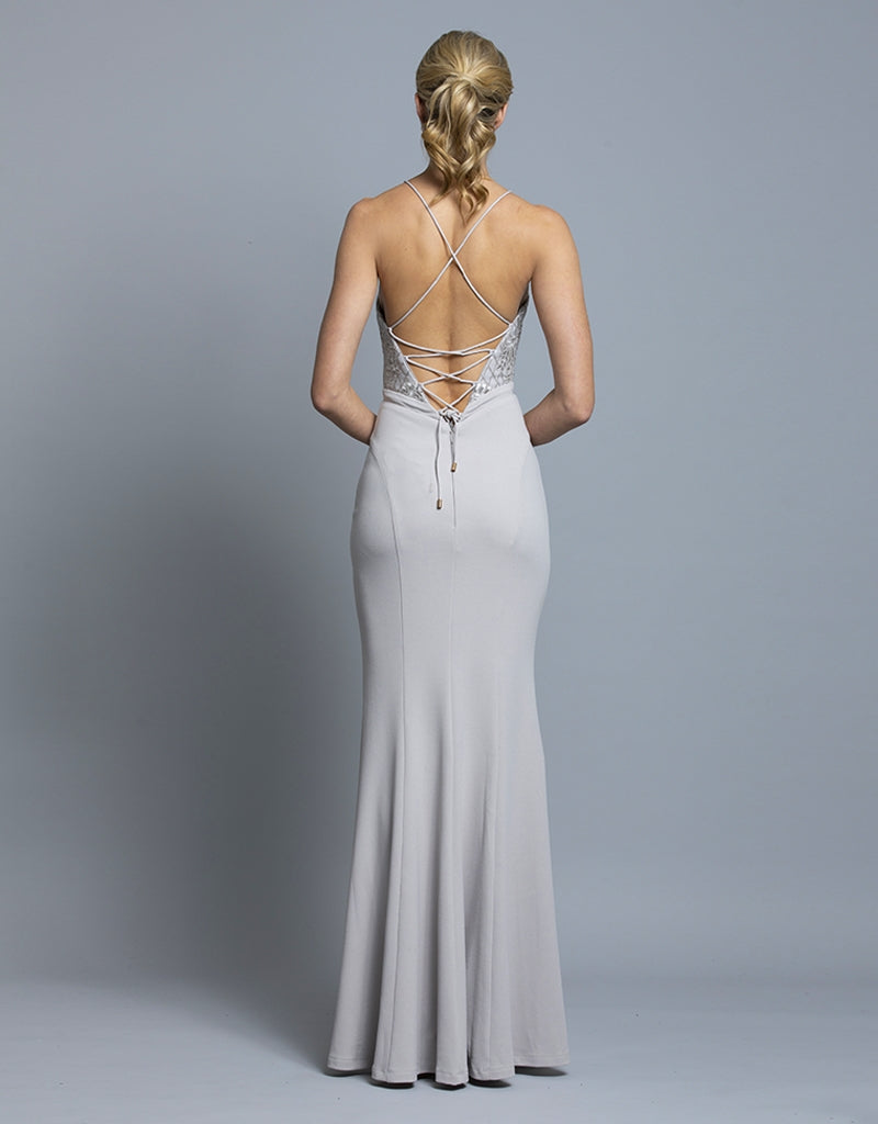 BROOKE STRAPPY GOWN B36D21-L