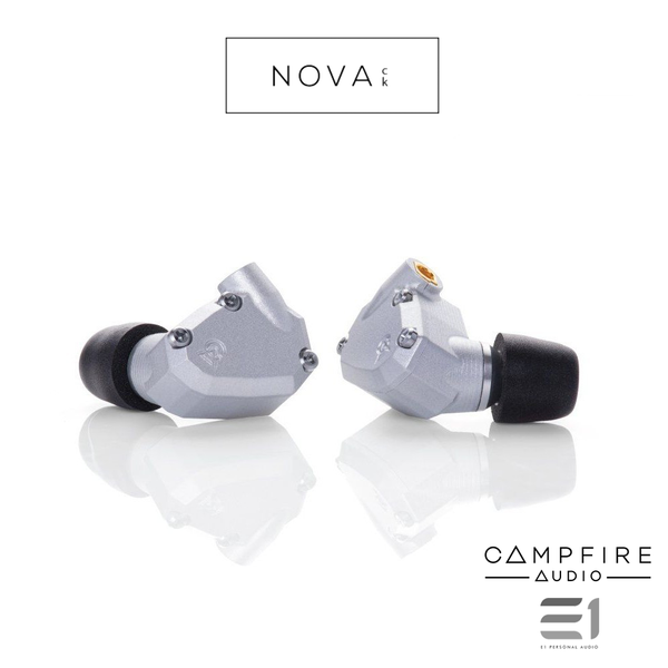 Campfire Audio Nova In-Ear Monitor (Silver)