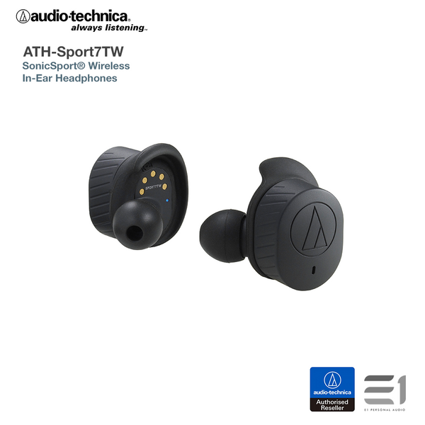 Audio-Technica ATH-SPORT7TW SonicSport® Wireless In-Ear Headphones