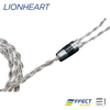 EFFECT AUDIO LIONHEART CABLE (MMCX / 2PIN)[EA 3.5MM / EA 2.5MM]