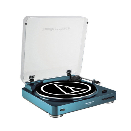 Audio-Technica AT-LP60 Vinyl Turntable (Blue)