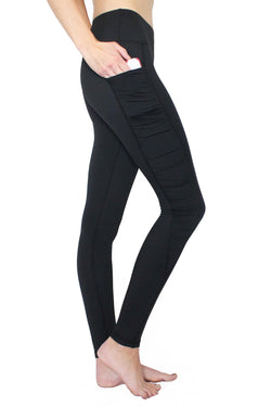 Black Ruffle - Pocket Pant