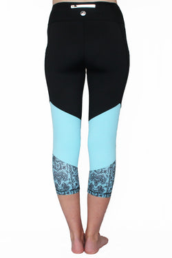 Blue Lace - Pocket Capri