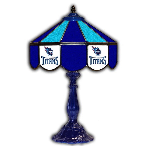 "Imperial Tennessee Titans 21"" Glass Table Lamp"