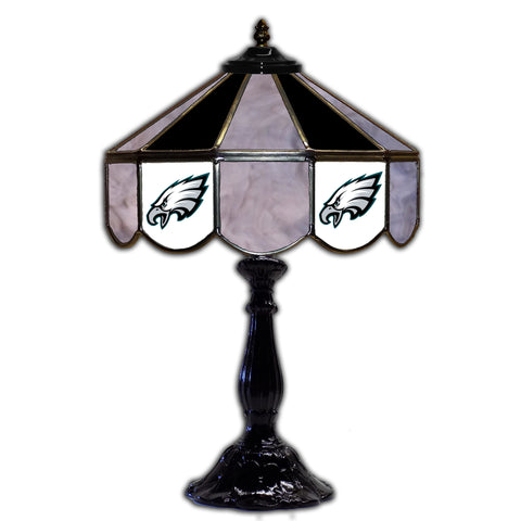 "Imperial Philadelphia Eagles 21"" Glass Table Lamp"