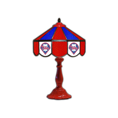 "Imperial Philadelphia Phillies 21"" Glass Table Lamp"
