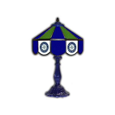 "Imperial Seattle Mariners 21"" Glass Table Lamp"