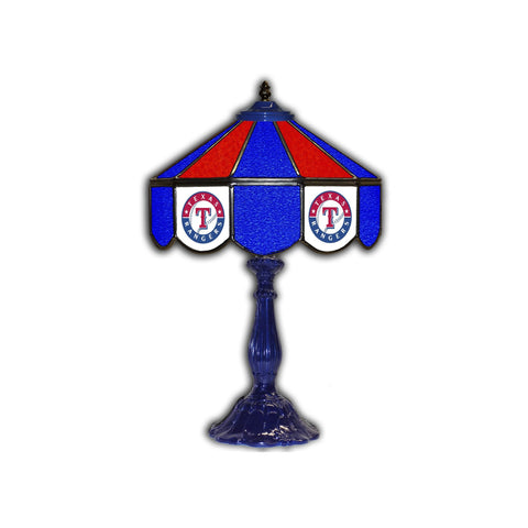 "Imperial Texas Rangers 21"" Glass Table Lamp"