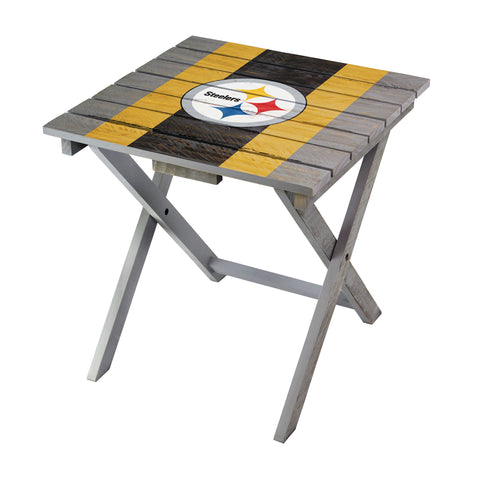 Imperial Pittsburgh Steelers Folding Adirondack Table