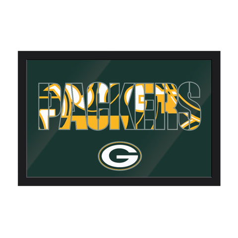 Imperial Green Bay Packers Framed Modern Wall Art