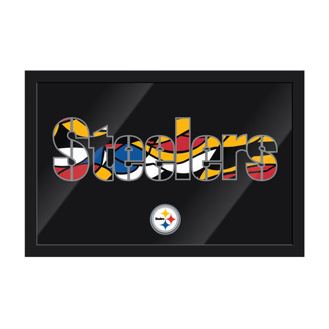 Imperial Pittsburgh Steelers Framed Modern Wall Art