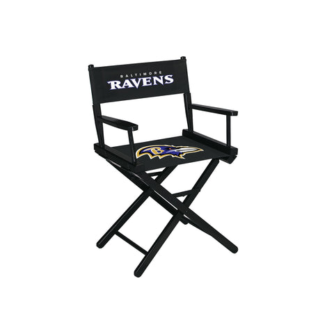 Imperial Baltimore Ravens Table Height Directors Chair