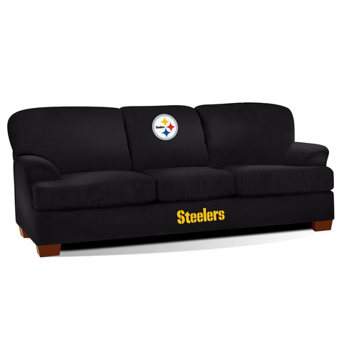 Imperial Pittsburgh Steelers First Team Microfiber Sofa