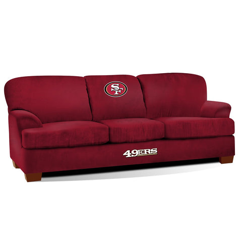 Imperial San Francisco 49ers First Team Microfiber Sofa