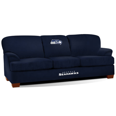 Imperial Seattle Seahawks First Team Microfiber Sofa