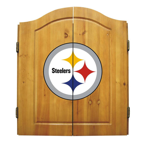 Imperial Pittsburgh Steelers Dart Cabinet Set
