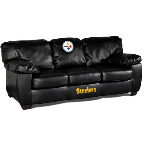 Imperial Pittsburgh Steelers Classic Leather Sofa